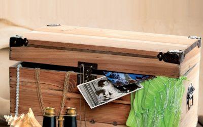 Ako ošetriť starú drevenú truhlicu včelím voskom CLOU