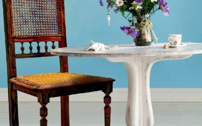 Ako docieliť vzhľad používaného nábytku